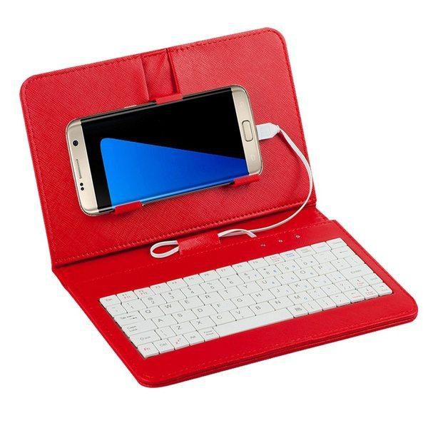 Чехол с QWETRTY-клавиатурой для Android-смартфонов