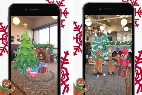 Deck Your Halls — новогоднее украшение дома в дополненной реальности