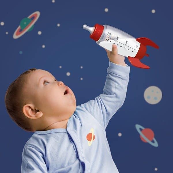 Бутылочка для кормления в виде ракеты