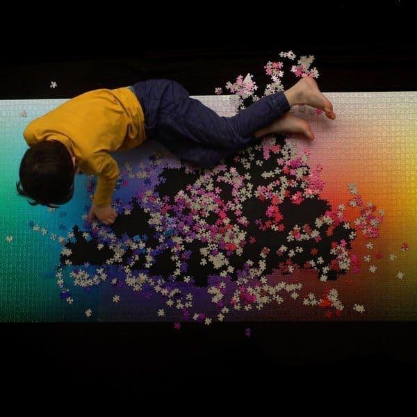 Цветовой пазл из 5000 деталей