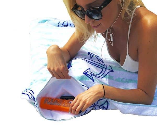 Многофункциональное пляжное полотенце Tilllow