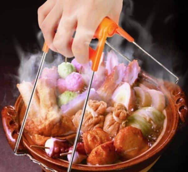 Металлическая прихватка для горячей посуды