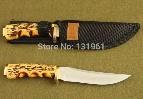 Нож с костяной ручкой
