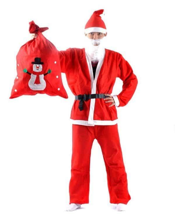 Мужской костюм Деда Мороза