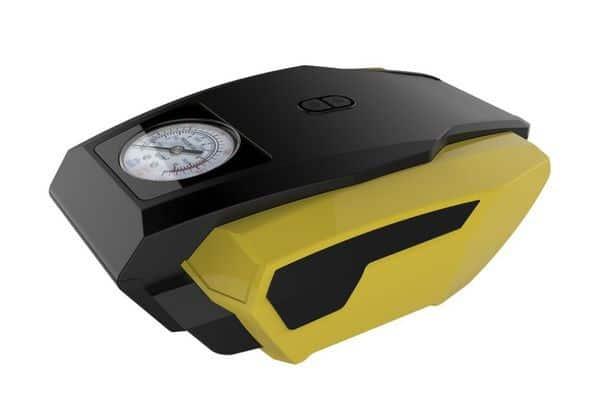 Быстрый компрессор с фонариком