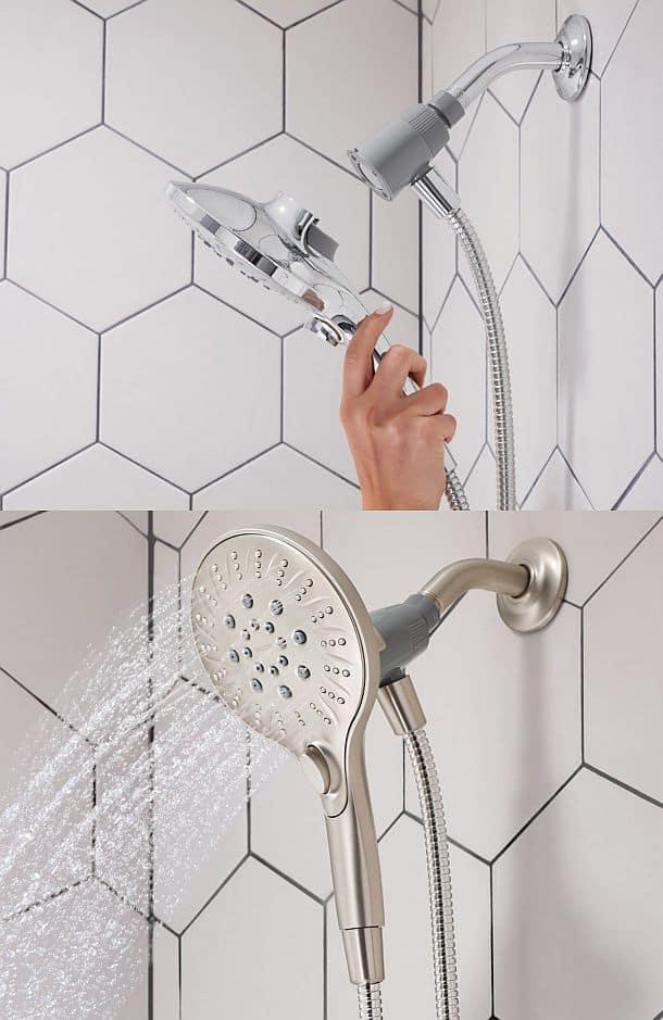 Душевая система Moen Attract Magnetix Handheld Shower