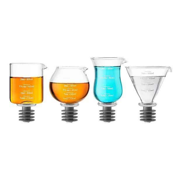 Набор мерных стаканов-пробок Jigger