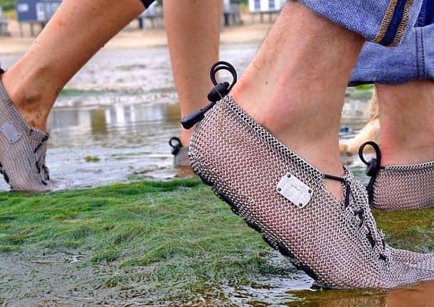 Обувь из кольчуги PaleoBarefoots