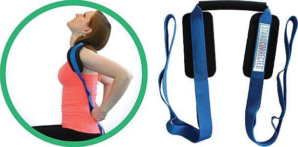 Приспособление для растяжки шеи и плеч Stand Corrected