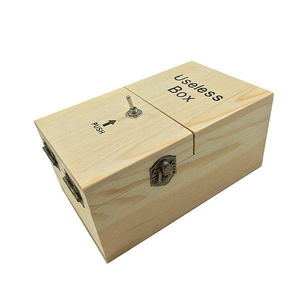Просто самоотключающаяся коробочка Useless Box