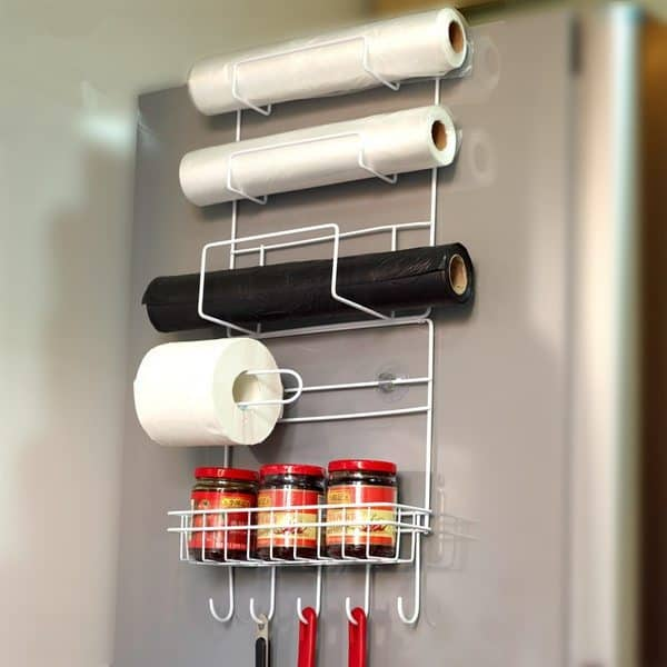 Металлический органайзер для холодильника