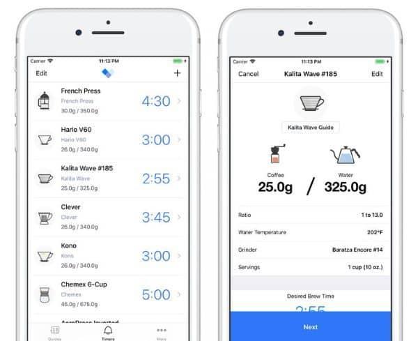 Barista - приложение, которое научит правильно заваривать кофе