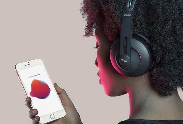 Интеллектуальные наушники с автоматической настройкой звучания Nuraphone