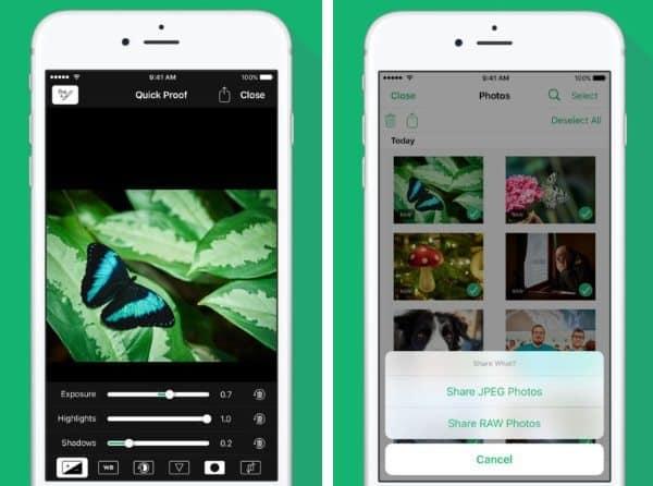 Cascable - приложение для управления фотокамерами по Wi-Fi