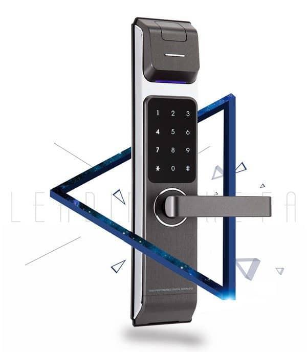 Смарт-замок со сканером отпечатков