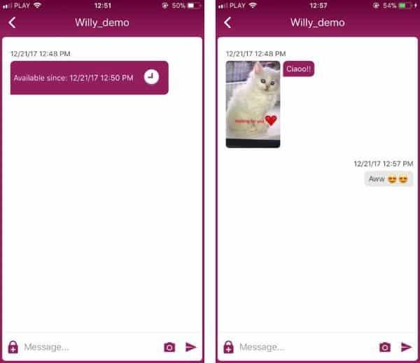 Willy - приложение для отправки сообщений в будущее