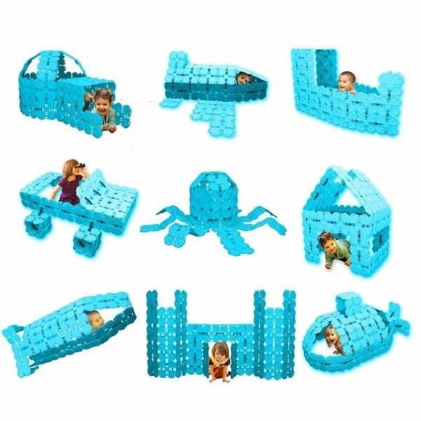 Большой строительный конструктор для детей Fort Boards