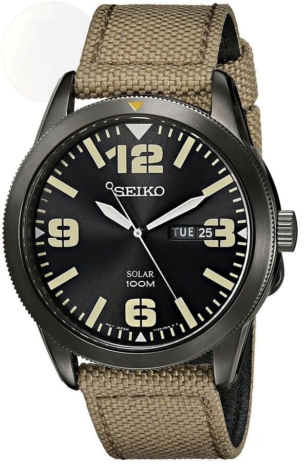 Часы на солнечном питании Seiko SNE331