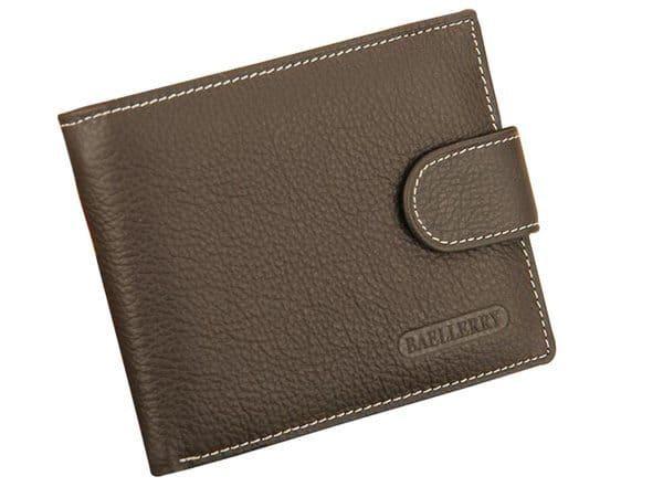 Мужской бумажник с застёжкой