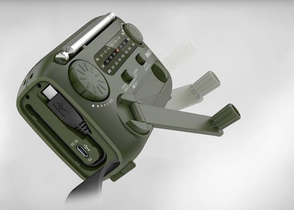 Радиоприёмник для выживальщиков от Phillips