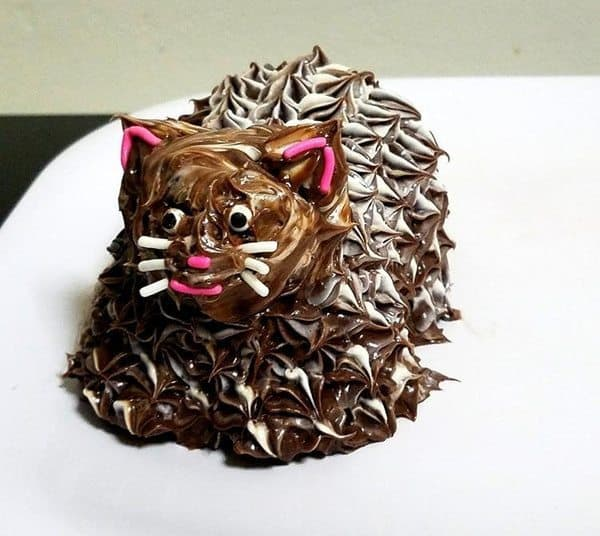 Формочки для приготовления выпечки в виде котов