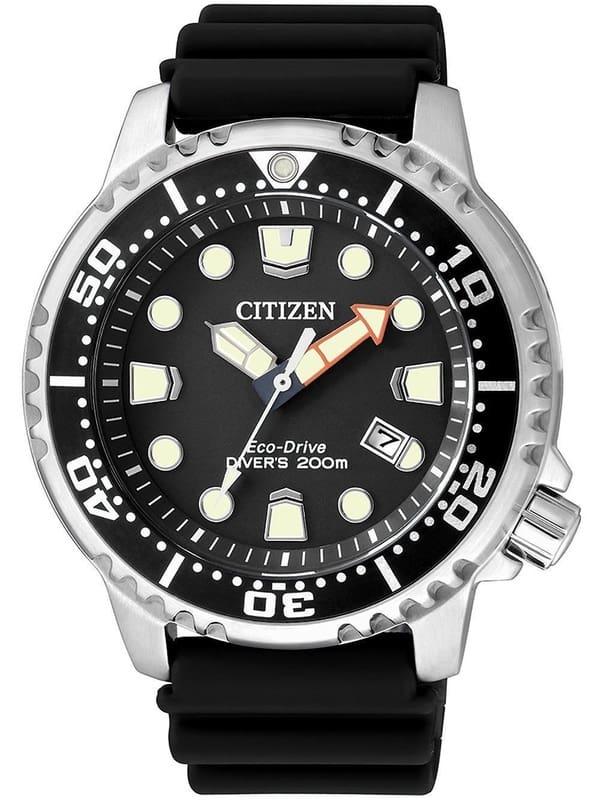 Дайверские часы Citizen Eco-Drive BN0150-28E