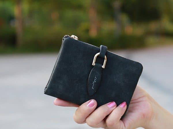 Компактный женский кошелёк