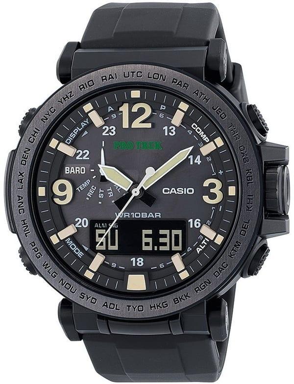 Туристические часы Casio Pro Trek PRG-600