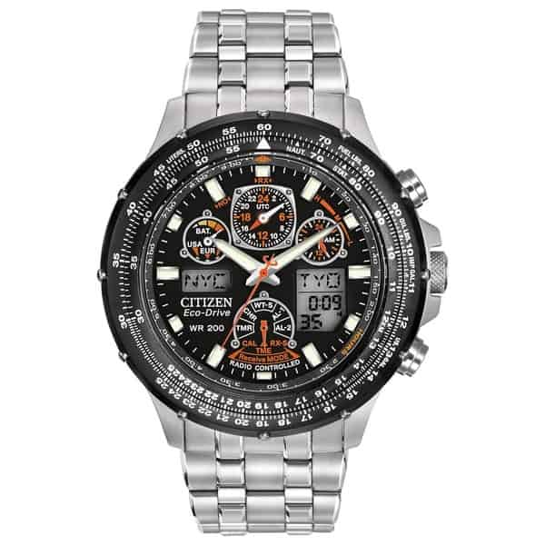 Продвинутые часы Citizen Eco-Drive Skyhawk A-T