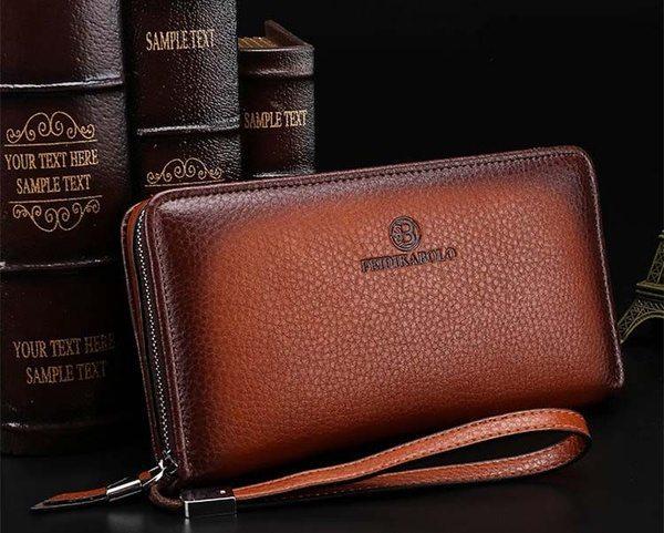 Мужской кошелёк-сумочка Feidikabolo