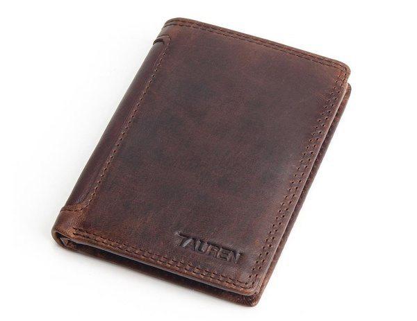 Винтажный кошелёк-книжка