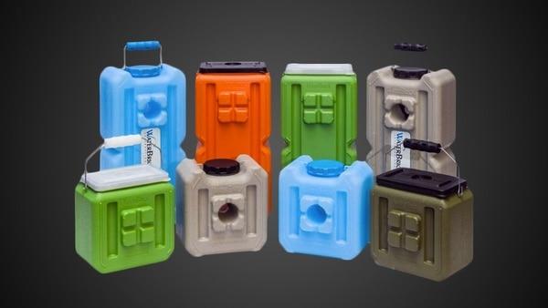 Модульные контейнеры для хранения воды WaterBrick