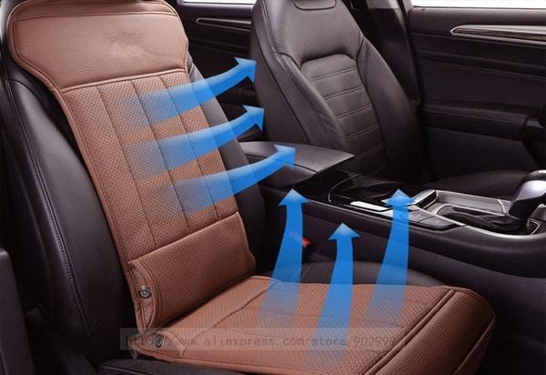 Охлаждающие чехлы для автомобильных сидений
