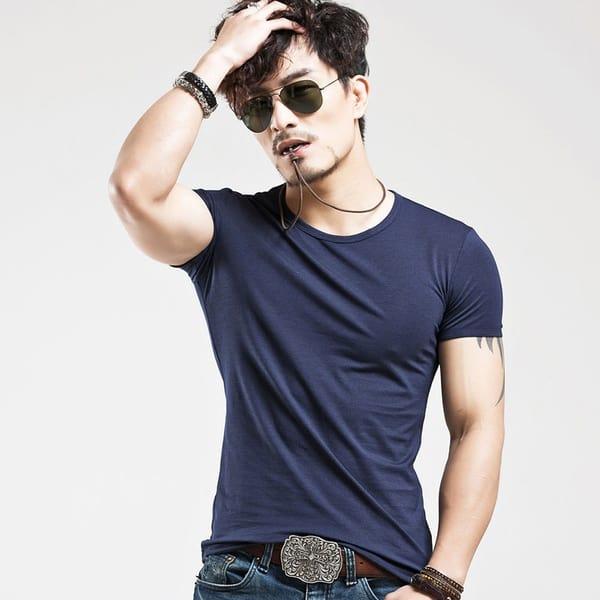 Облегающая футболка для мужчин