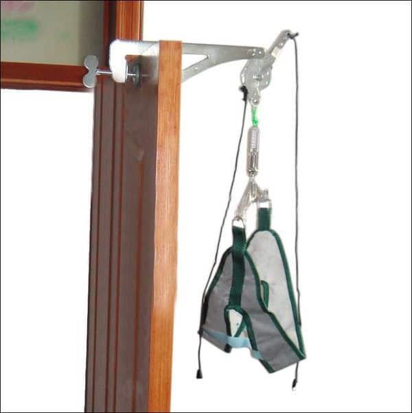 Домашний тренажёр для устранения болей в шее и плечах