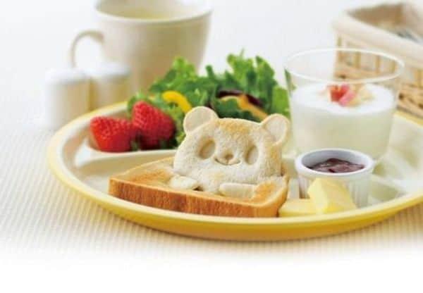Формочки для приготовления тостов в виде забавных 3D-зверят
