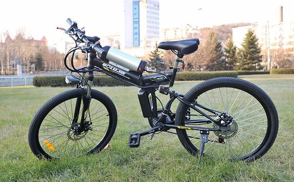 Электрический MTB-велосипед с удобным седлом DCY X6