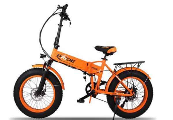 Маленький велосипед на больших колёсах Pride