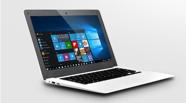 Ультратонкий ноутбук с подсветкой логотипа Gmolo