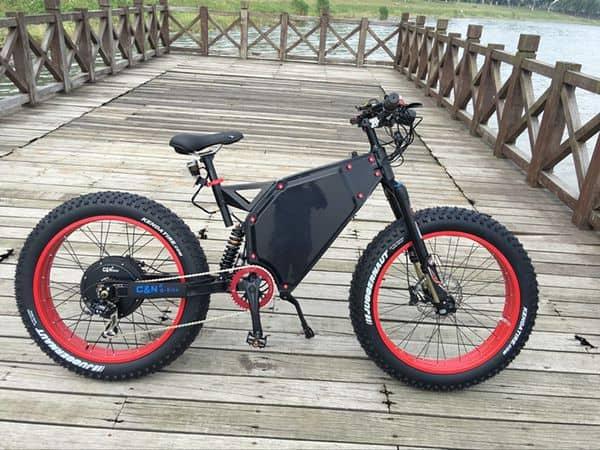 Мощный горный велосипед C&E e-Bike