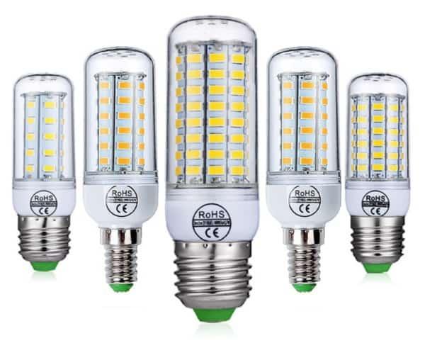 Светодиодная лампочка с цоколем E27/E14