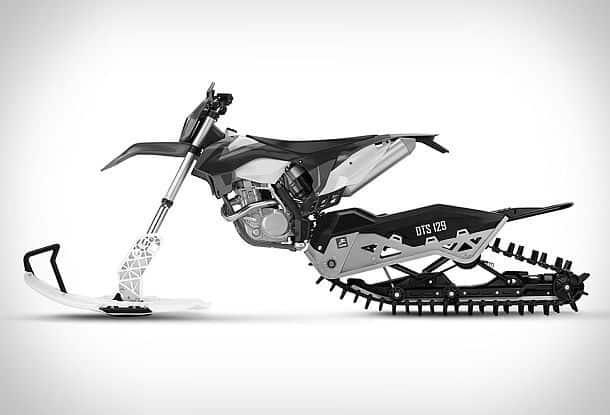 Комплект для трасформации мотоцикла в снегоход Dirt-to-Snow Bike