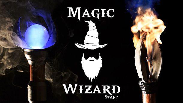Магические посохи Magic Wizard Staff