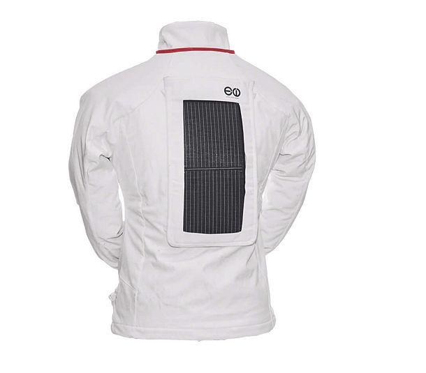Куртка Winter Soltice для гаджетов (со съемной солнечной батареей)