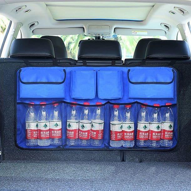 Автомобильная вместительная сумка-пояс максимальной доступности