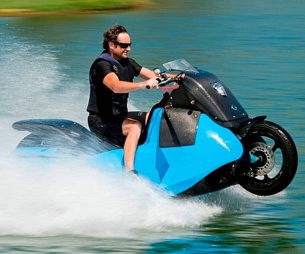 Мотоцикл-амфибия Gibbs Biski