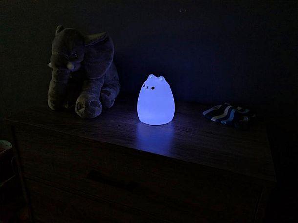 Переносной светильник Cat Tap Lamp на сенсорном управлении
