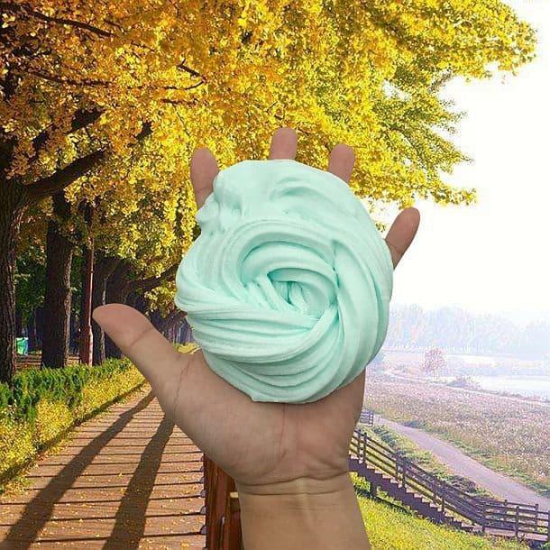 Антистрессовая тактильная игрушка Fluffy Slime