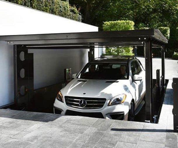 Гараж с лифтом для подземной парковки Pop-Up Parking Garage от компании IdealPark