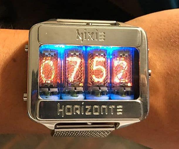 Наручные часы Nixie Tube